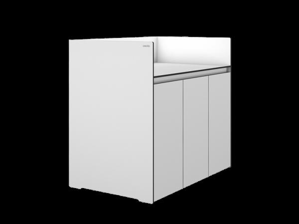 Grillschrank OSKAAR 3-türig, weiß