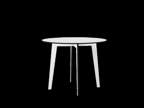 Tisch THEAA rund, weiß