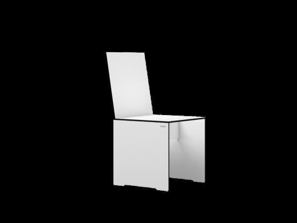 Stuhl EVAA, weiß