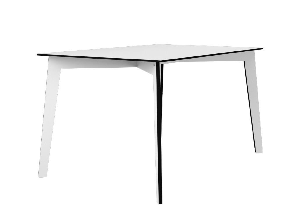Tisch Weiß Eckig.Tisch Theaa Eckig Weiß