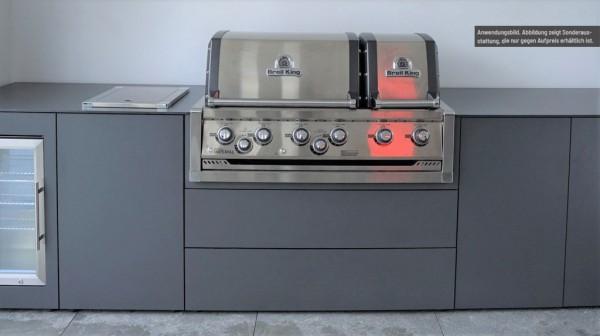 Grillschrank passend für Einbaugrill Broil King Imperial S670 XL PRO Built In - für Outdoorküche