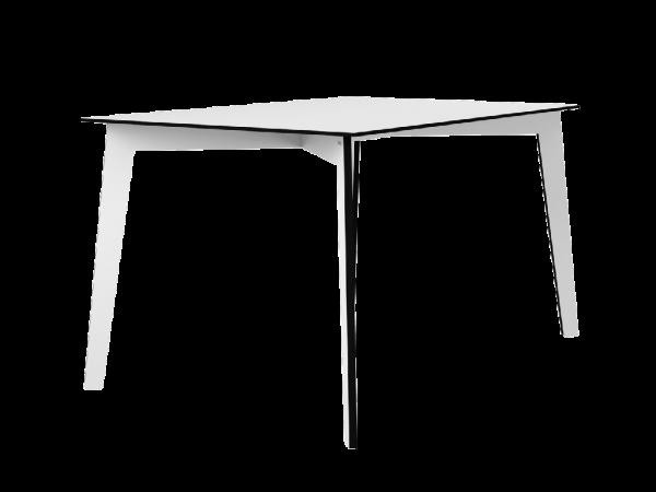 Tisch THEAA eckig, weiß